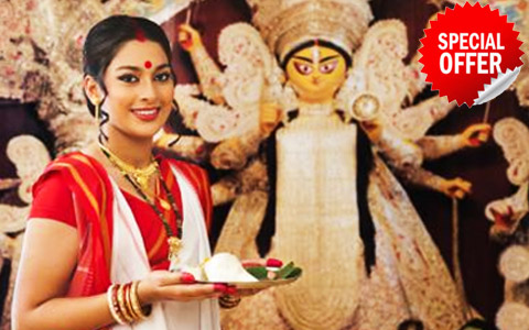 Discover India durga festival special offers