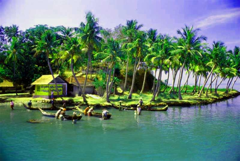 Tourist attractions in india Kerala