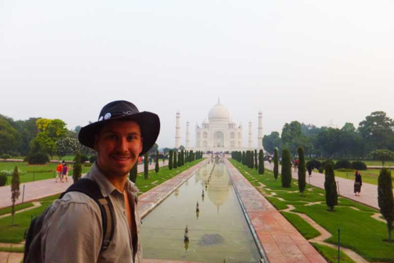 travel bloggers travelling in india