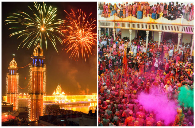 There is nothing more exciting, thrilling and fun in India then its festivals