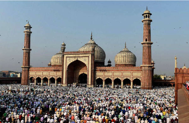 Jama Masjid is the great mosque of Old Delhi is the largest in india.