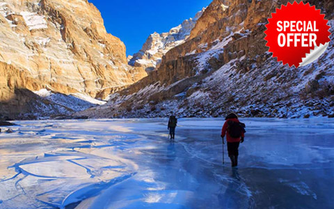 Discover India chadar frozen river trek Tours