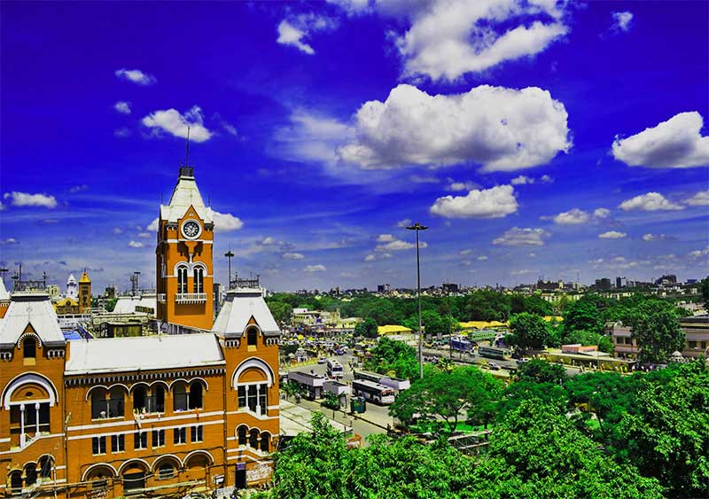 Places to visit India Chennai
