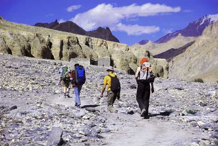 adventure ladakh trekking
