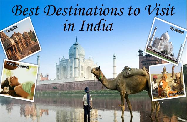 destinations to visit in india