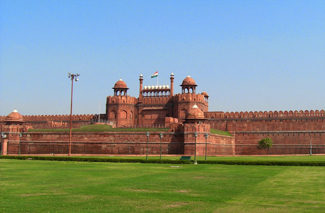 Red Fort is probably most famous historical places of Delhi